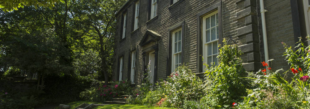 Brontë Parsonage Museum in Haworth, West Yorkshire