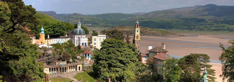 Portmeirion in Snowdonia, Wales