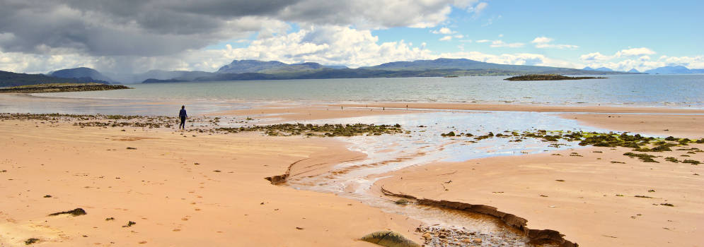 Red Point Beach in Wester Ross, Schotland