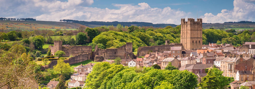 Richmond Castle in North Yorkshire
