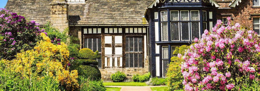 Rufford Old Hall in Lancashire