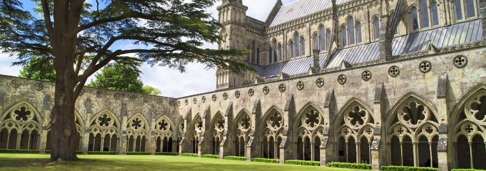 Salisbury Cathedral in Wiltshire