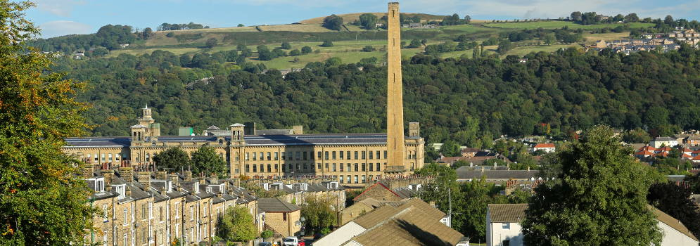 Saltaire in West Yorkshire