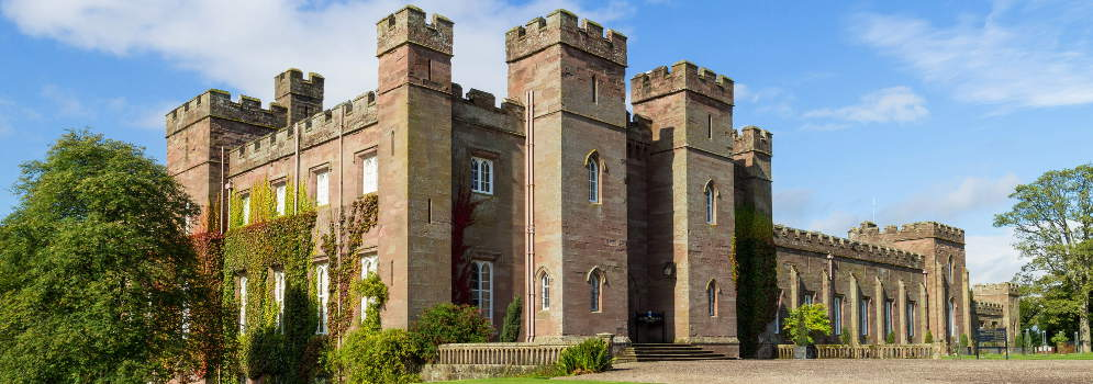 Scone Palace in Perth and Kinross, Schotland