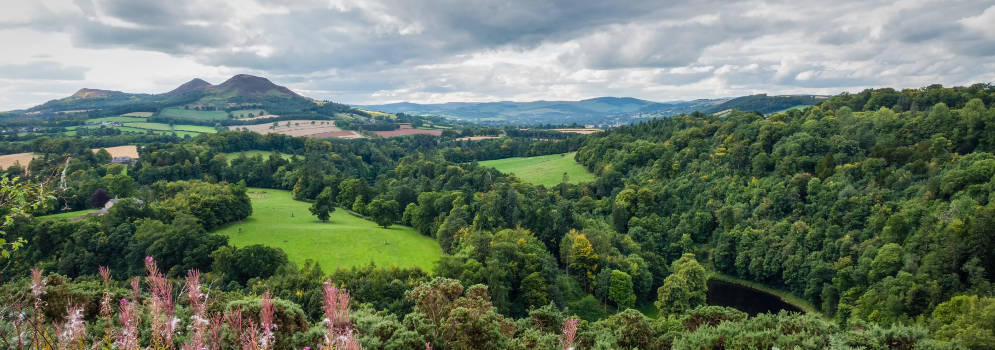 Vakantie in de Scottish Borders