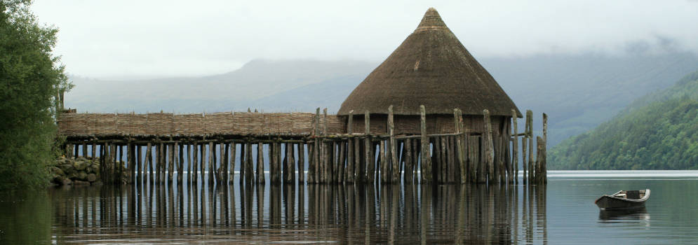 Scottish Crannog Centre in Schotland