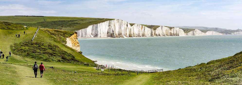 Seven Sisters in de South Downs