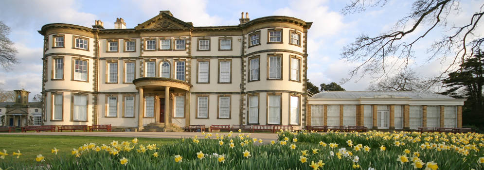 Sewerby Hall in East Yorkshire, Engeland