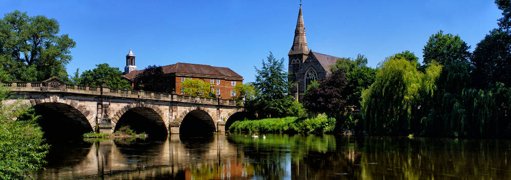 Shrewsbury in Shropshire