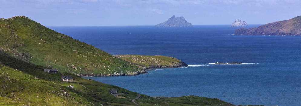 Skellig Islands in County Kerry, Ierland