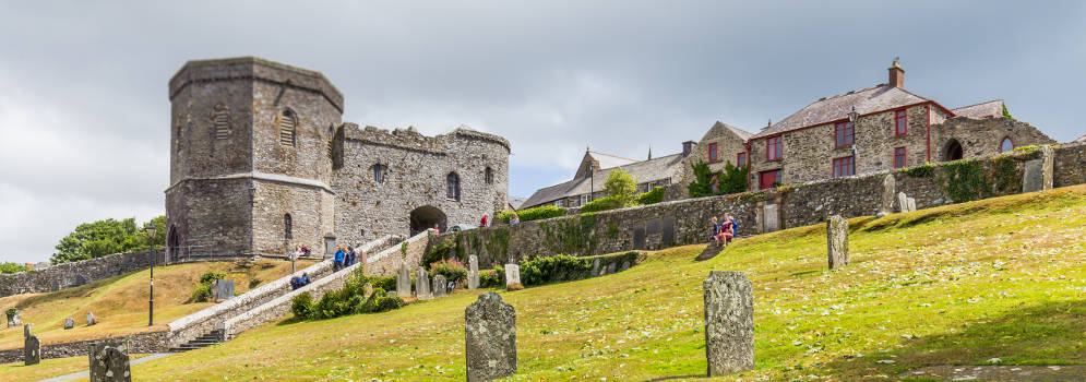 St David's Cathedral in Pembrokeshire, Wales