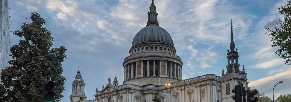 St Paul's Cathedral in Londen