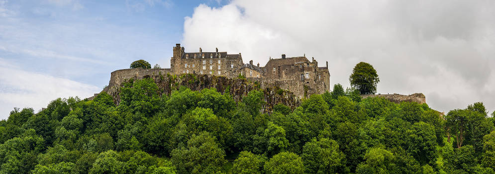 Stirling Castle in Schotland