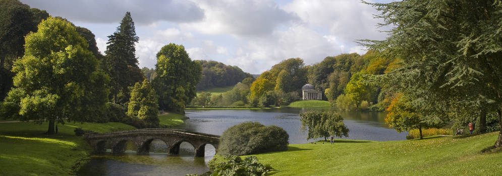 Stourhead in Wiltshire