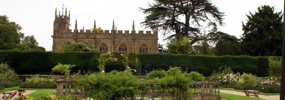 Sudeley Castle in Winchcombe, Engeland