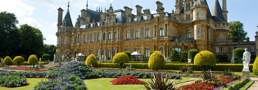Waddesdon Manor in Buckinghamshire, Engeland
