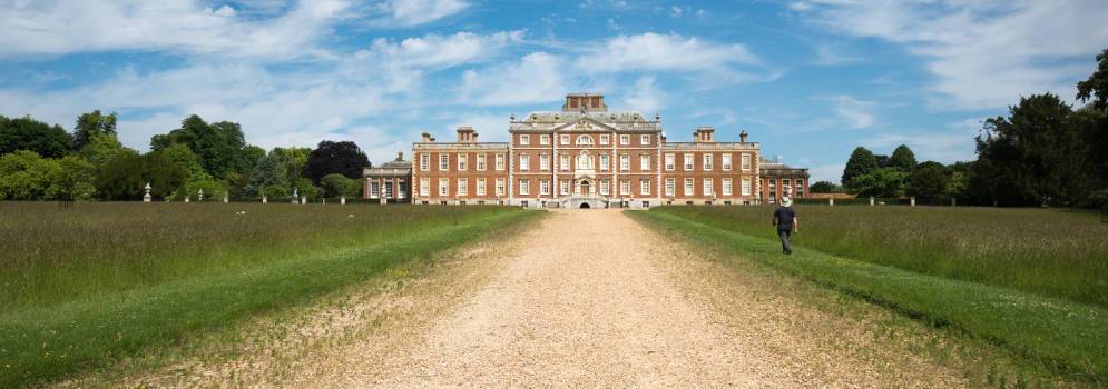 Wimpole Hall in Cambridgeshire, Engeland