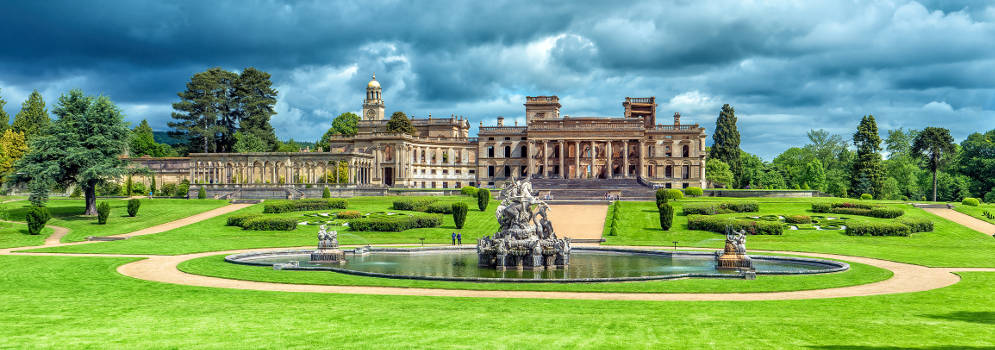 Witley Court in Worcesterrshire, Cotswolds
