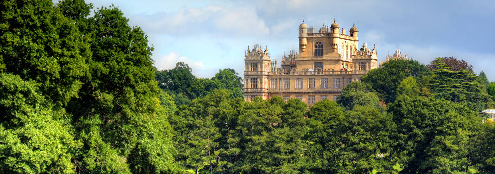 Wollaton Hall in Nottingham, Engeland