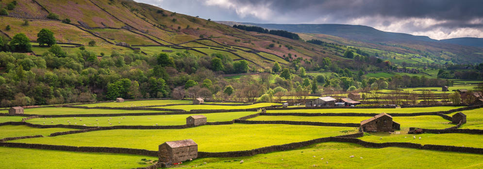Yorkshire Dales National Park in Noord Engeland